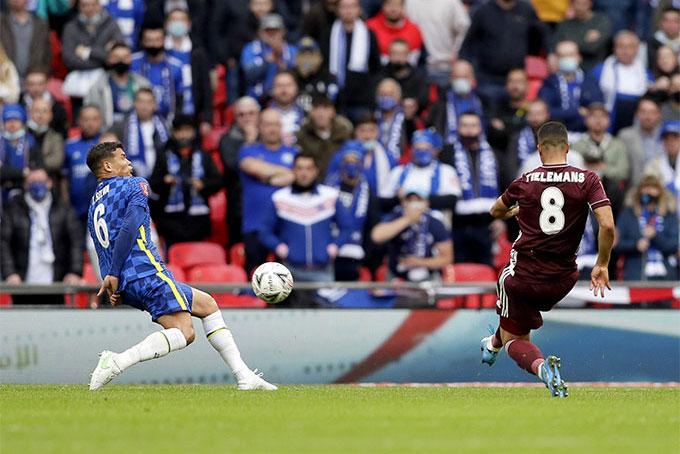 Hút chết phút cuối, Leicester giành cúp FA 2020/21
