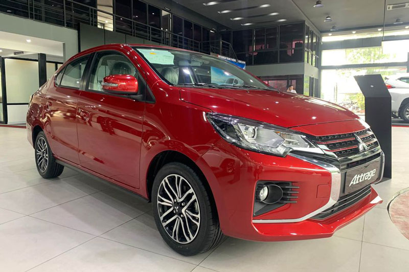 Mitsubishi Attrage CVT Premium 2021.