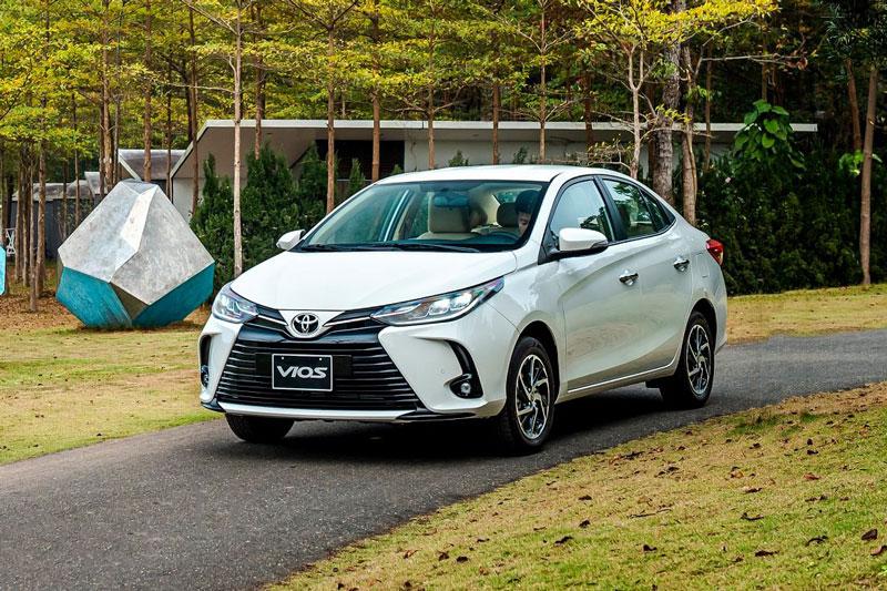 Toyota Vios là xe hạng B khá phổ biến tại Việt Nam. Ảnh: TMV.