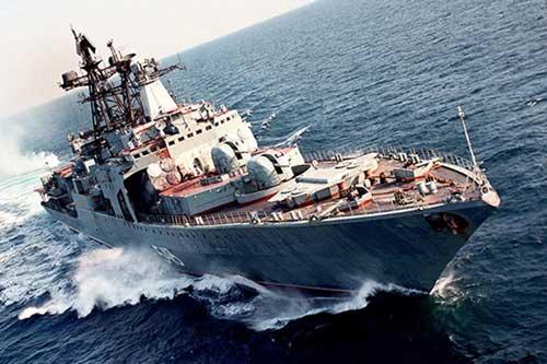 Sức mạnh tấn công mới của khinh hạm Marshal Shaposhnikov sau nâng cấp