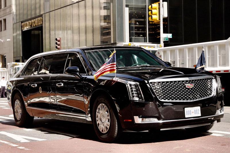 Cadillac One The Beast 2.0 từng được cựu Tổng thống Mỹ Donald Trump sử dụng.