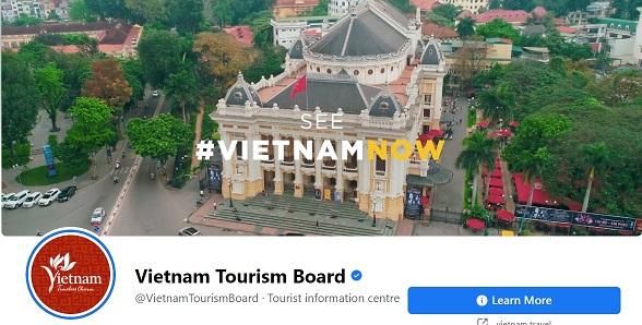 Từ ngày 1/6, Tổng cục Du lịch tiếp quản tài khoản mạng xã hội