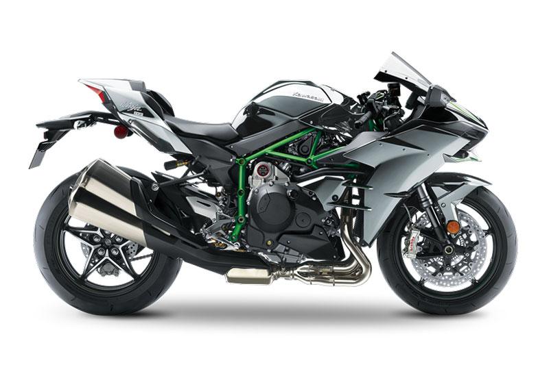2. Kawasaki Ninja H2.