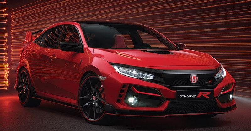 Honda Civic Type R 2021.