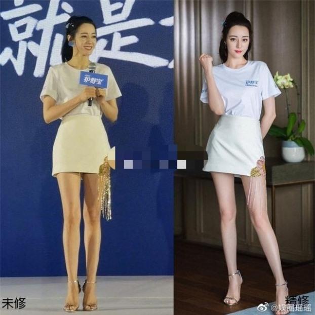 Body thật của mỹ nhân Cbiz khi không Photoshop: Nhiệt Ba đỉnh cao, Dương Tử bị chê cười 3