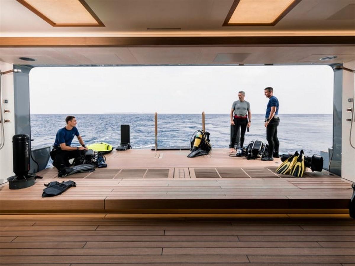 Các phòng trên du thuyền đều rộng rãi, có nhiều không gian để thư giãn.