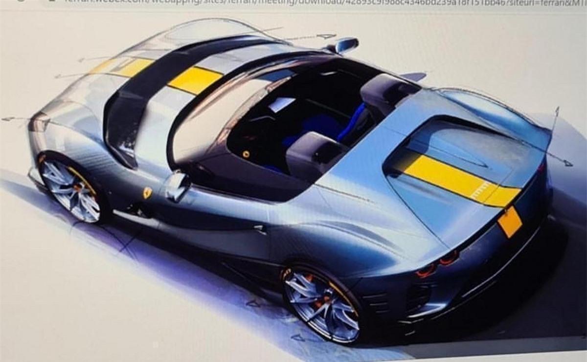 Về mặt công nghệ, Ferrari trang bị cho 812 Competizione A hệ thống đánh lái bốn bánh tương tự như bản coupe. Hệ thống này cũng giúp cải thiện sự ổn định khi xe vận hành ở tốc độ cao cũng như sự nhanh nhẹn khi di chuyển ở nơi đông đúc. Mẫu xe này cũng được trang bị hệ thống kiểm soát trượt ngang thế hệ thứ 7, mới nhất của hãng. Cuối cùng đó là sự xuất hiện rộng rãi của sợi carbon, giúp làm giảm trọng lượng tổng thể của xe.