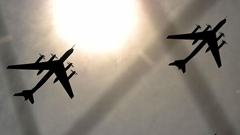 Máy bay ném bom Tu-95.