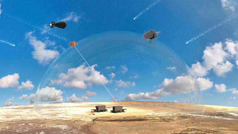 Tia laser chiến đấu của Israel mới chỉ tốt trên giấy tờ. Ảnh minh họa.