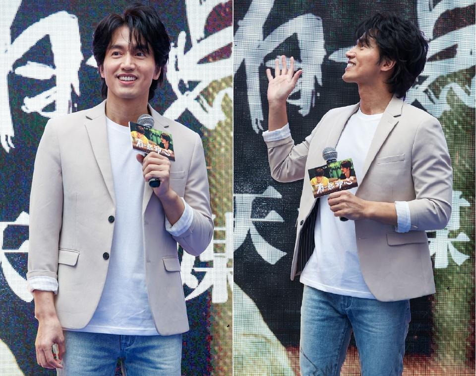 Ngôn Thừa Húc tại sự kiện quảng bá phim mới. Ảnh: iFeng.