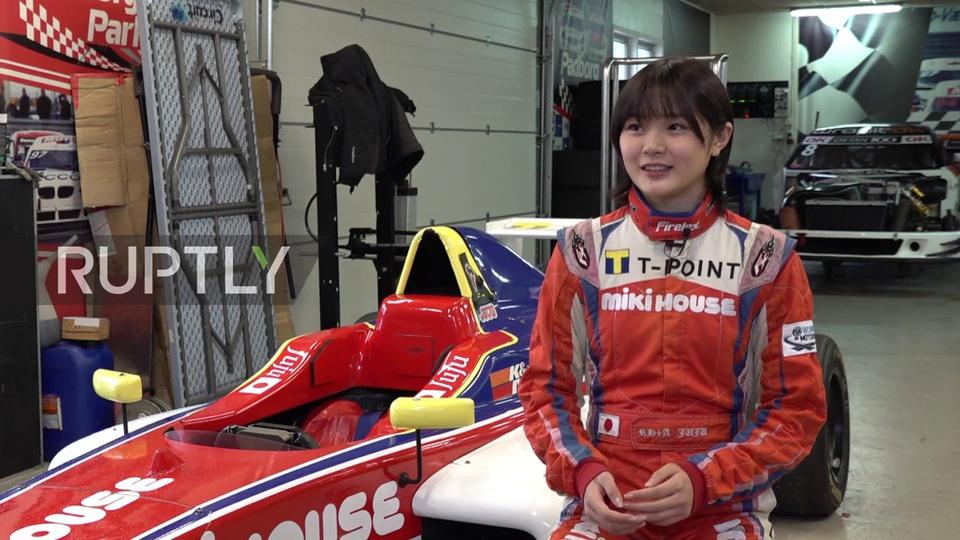 Ở tuổi 14, Juju Noda (Nhật Bản) lọt vào danh sách những gương mặt trẻ nổi bật dưới 30 tuổi ở châu Á do tạp chí Forbes bình chọn. Ảnh: Ruptly.