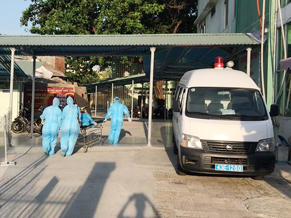 đưa đến Trung tâm Y tế quận Sơn Trà để tiến hành ca sinh mổ lần 2