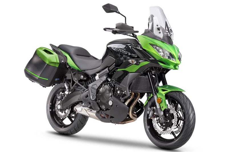 10. Kawasaki Versys 650 (giá: 8.500 USD).