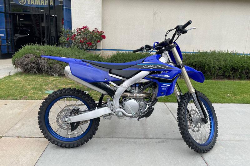 5. Yamaha YZ250F (giá: 8.500 USD).