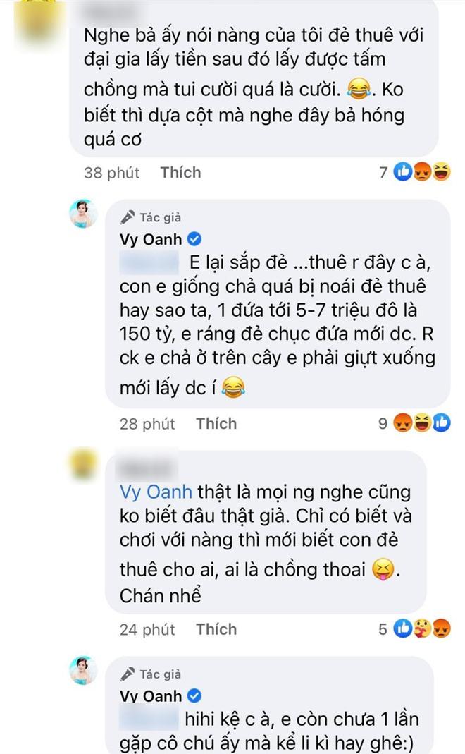 """Bị đại gia Phương Hằng tố giật chồng, Vy Oanh lên tiếng đáp trả và còn mượn chuyện """"đẻ thuê"""" 115 tỷ để cà khịa ngược? - Ảnh 4."""