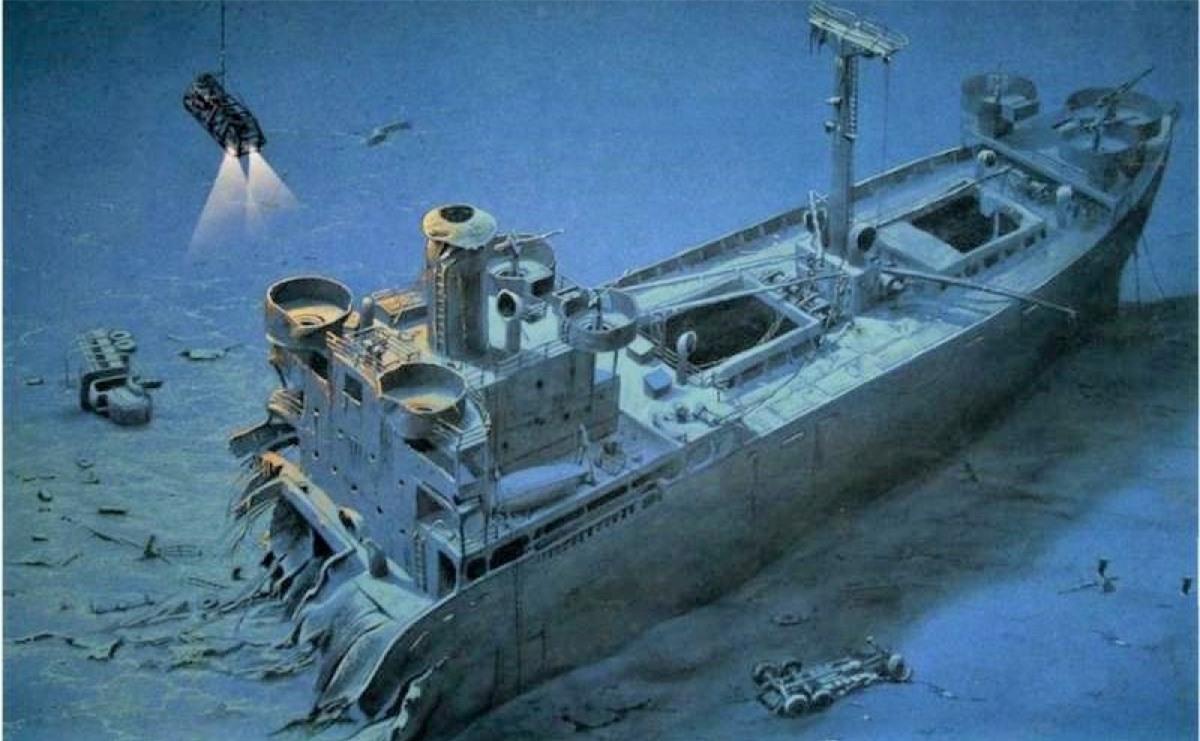 Trong Thế chiến II, các tàu ngầm tham gia nhiều chiến dịch mật; Nguồn: topwar.ru