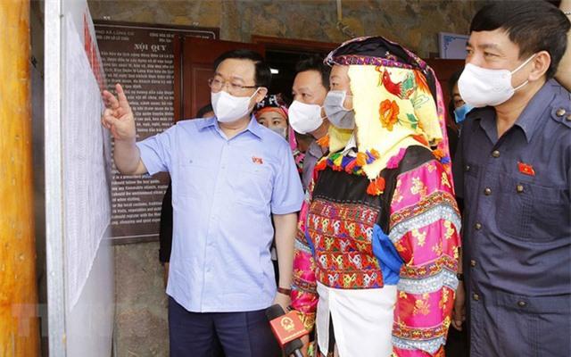 Chủ tịch Quốc hội Vương Đình Huệ: Cuộc bầu cử lần này rất đặc biệt - Ảnh 1.