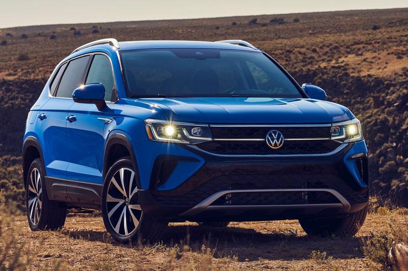 Volkswagen Taos 2022.