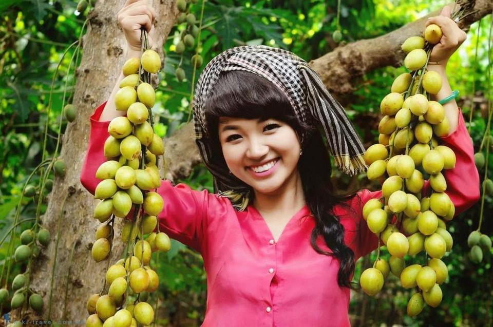 """Tiền Giang được mệnh danh """"vương quốc trái cây"""". Hiện nay, tỉnh Tiền Giang có hơn 75.000 ha diện tích trồng cây ăn quả, dẫn đầu cả nước, cho sản lượng khoảng 1,3 triệu tấn trái cây mỗi năm. Ảnh: Du lịch miền Tây."""
