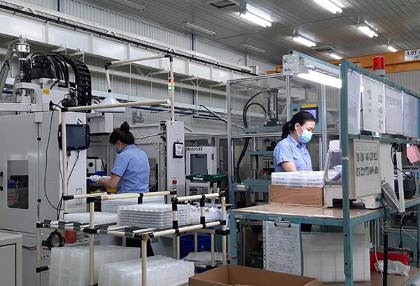 Tổ chức sản xuất giãn cách trong các KCN trên địa bàn Đà Nẵng