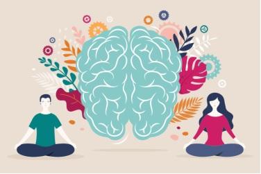 Tập yoga giúp thúc đẩy máu lưu thông lên não.