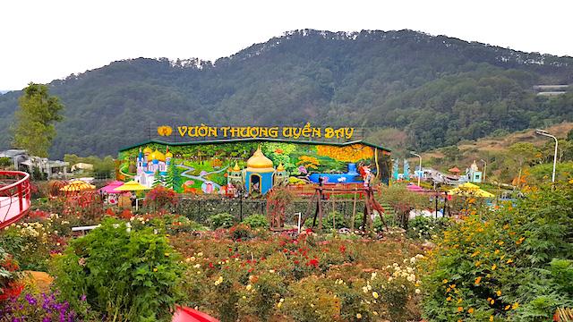 Điểm du lịch canh nông Vườn Thượng Uyển Bay (TP Đà Lạt) vi phạm các quy định xây dựng bị phát hiện và xử lý giữa năm 2020.