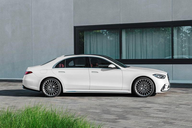 9. Mercedes-Benz S-Class.