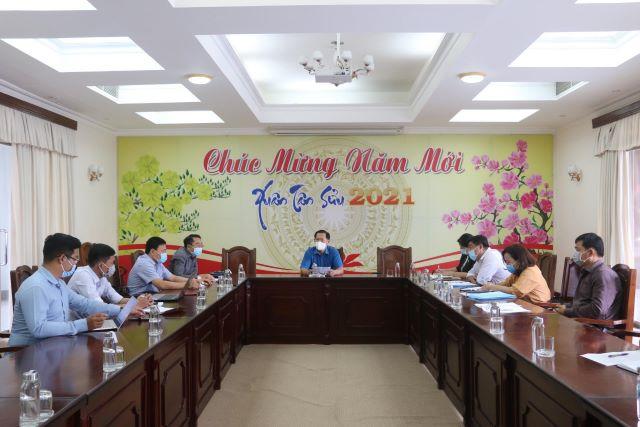 UBND tỉnh An Giang tổ chức buổi làm việc cung cấp thông tin cho báo chí về việc xả thải của chợ đầu mối thủy hải sản.