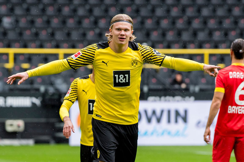 Tiền đạo: Erling Haaland (Borussia Dortmund