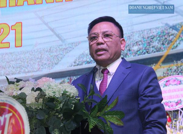 Ông Cao Tiến Đoan, Chủ tịch HHDN tỉnh Thanh Hóa.