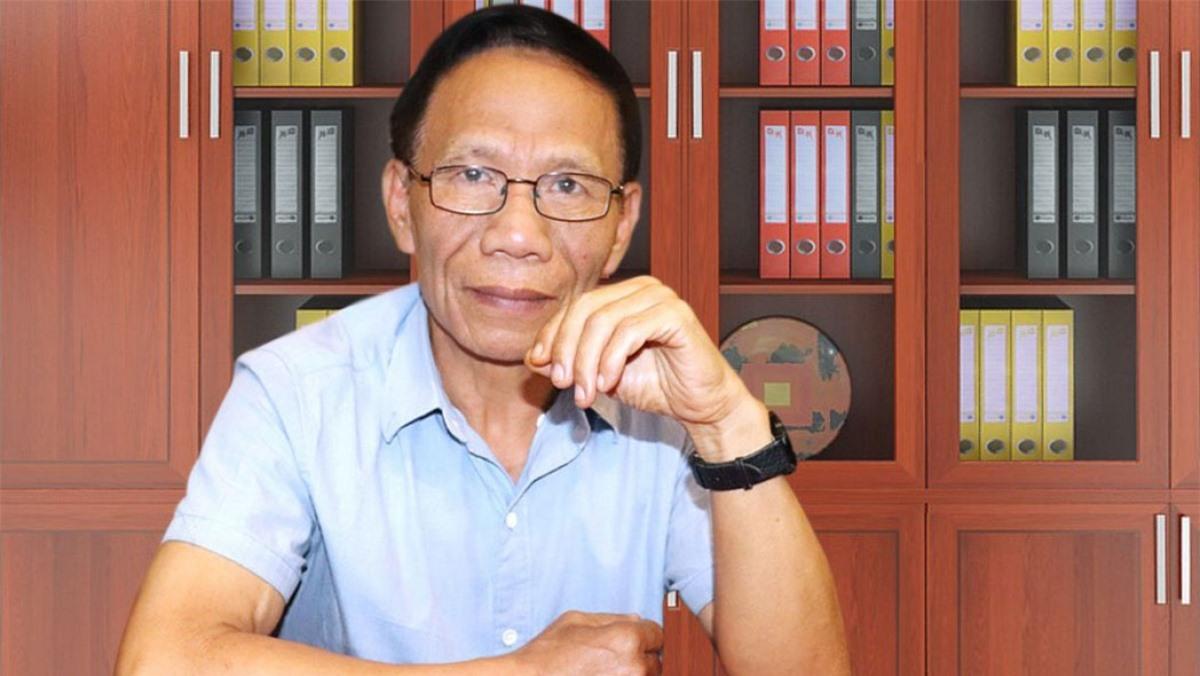 Chuyên gia nông nghiệp Hoàng Trọng Thủy. Ảnh: Báo Lao động Thủ đô