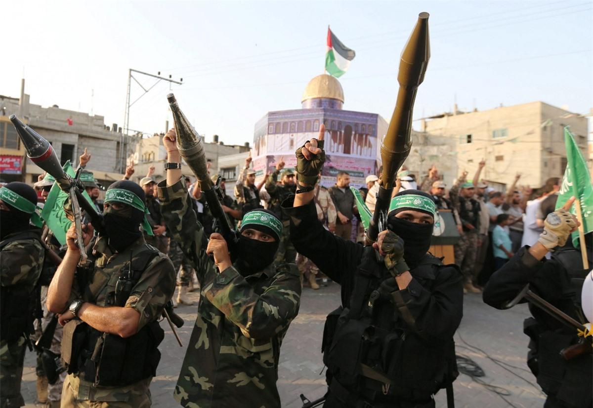 kho vu khi cua Hamas anh 1