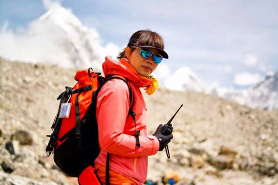 Tsang Yin-hung, nhà leo núi người Hong Kong. Nguồn: Asiatimes.