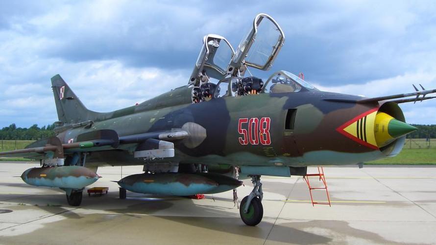 Không quân Ba Lan vẫn đang sử dụng Su-22M4K.