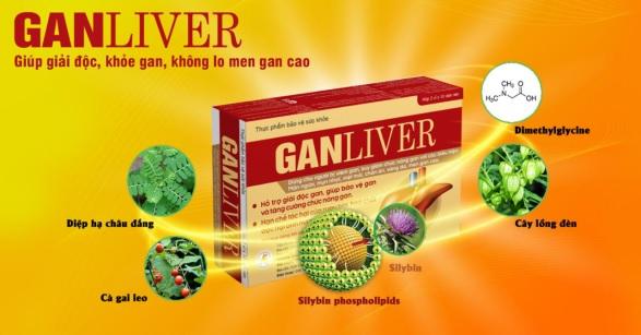 Thực phẩm bảo vệ sức khỏe GANLIVER.