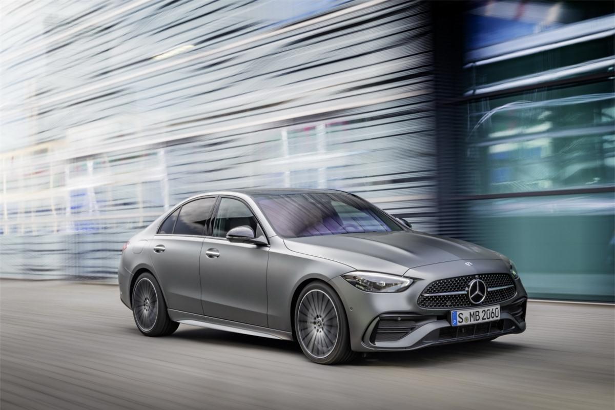 Mercedes-Benz C-Class 2022 cho thị trường Mỹ.
