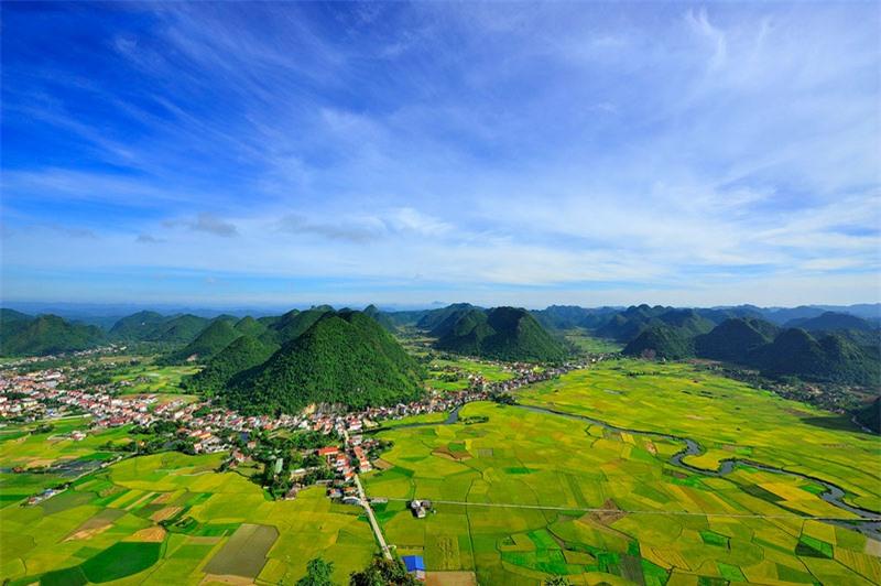 Bắc Sơn là huyện thuộc tỉnh Lạng Sơn và cách Hà Nội khoảng 160 km về phía Bắc. Ảnh: Diem Dang Dung.