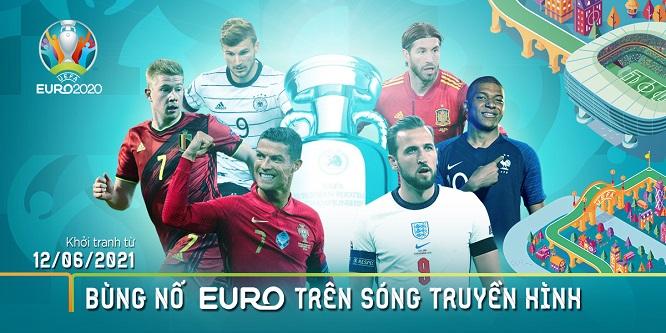 VTVcab ON trực tiếp những trận cầu Euro đỉnh cao nhất