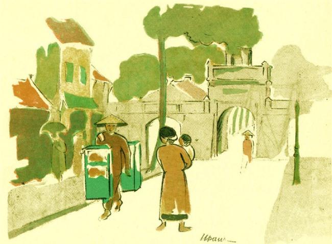 Gánh hàng rong và tiếng rao trên phố Hà Nội xưa - Ảnh 11.
