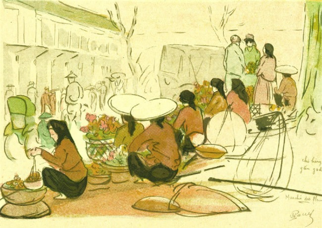 Gánh hàng rong và tiếng rao trên phố Hà Nội xưa - Ảnh 9.