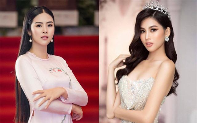 Hoa hậu Ngọc Hân, Á hậu Ngọc Thảo phủ nhận thông tin dự sự kiện đông người giữa mùa dịch - Ảnh 1.