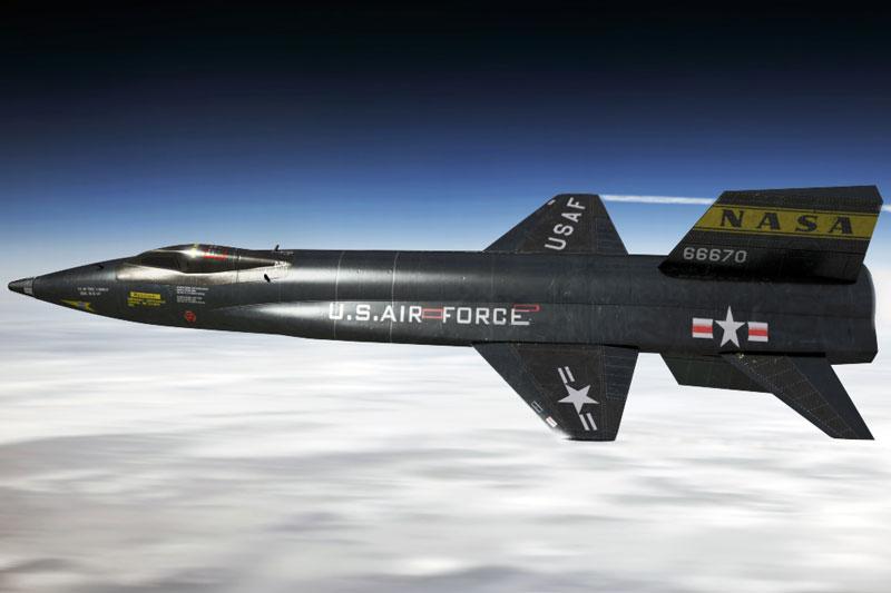 North American X-15. Ảnh: DeviantArt.