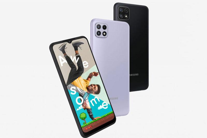 Samsung Galaxy A22 5G.