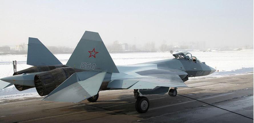 Tiêm kích Su-57 của Sukhoi.