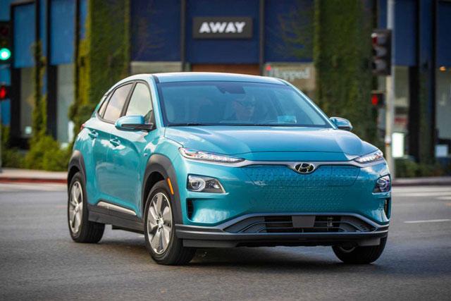 Hyundai Kona Electric 2021. Ảnh: Hyundai.
