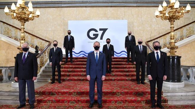 Đại diện các nước G7 có cuộc gặp lịch sử tại London ngày 5/6