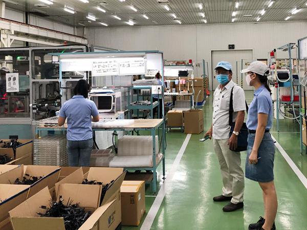 Ban quản lý Khu công nghệ cao và các KCN Đà Nẵng tăng cường quản lý, đôn đốc các doanh nghiệp triển khai các biện pháp bảo an an toàn phòng, chống dịch Covid-19 trong hoạt động sản xuất kinh doanh