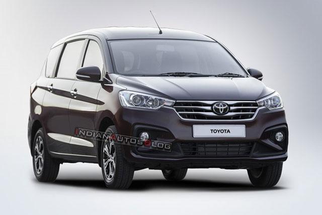 Mẫu xe 7 chỗ Toyota sắp trình làng.
