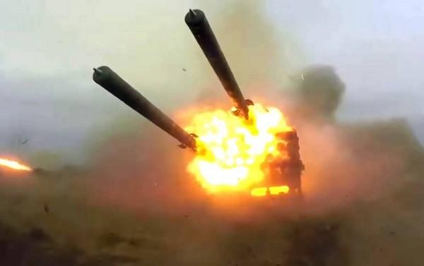 TOS-2 Tosochka của Nga được đưa đi thử nghiệm ở Syria.