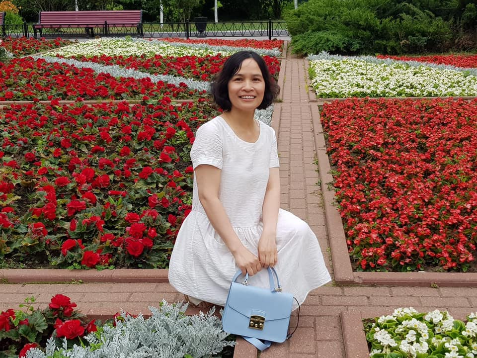 Chị Nguyên Hồng đã sống ở Nga hơn 30 năm và đã từng nhiễm Covid-19, hiện chị rất yên tâm khi đã được tiêm vaccine Sputnik V.